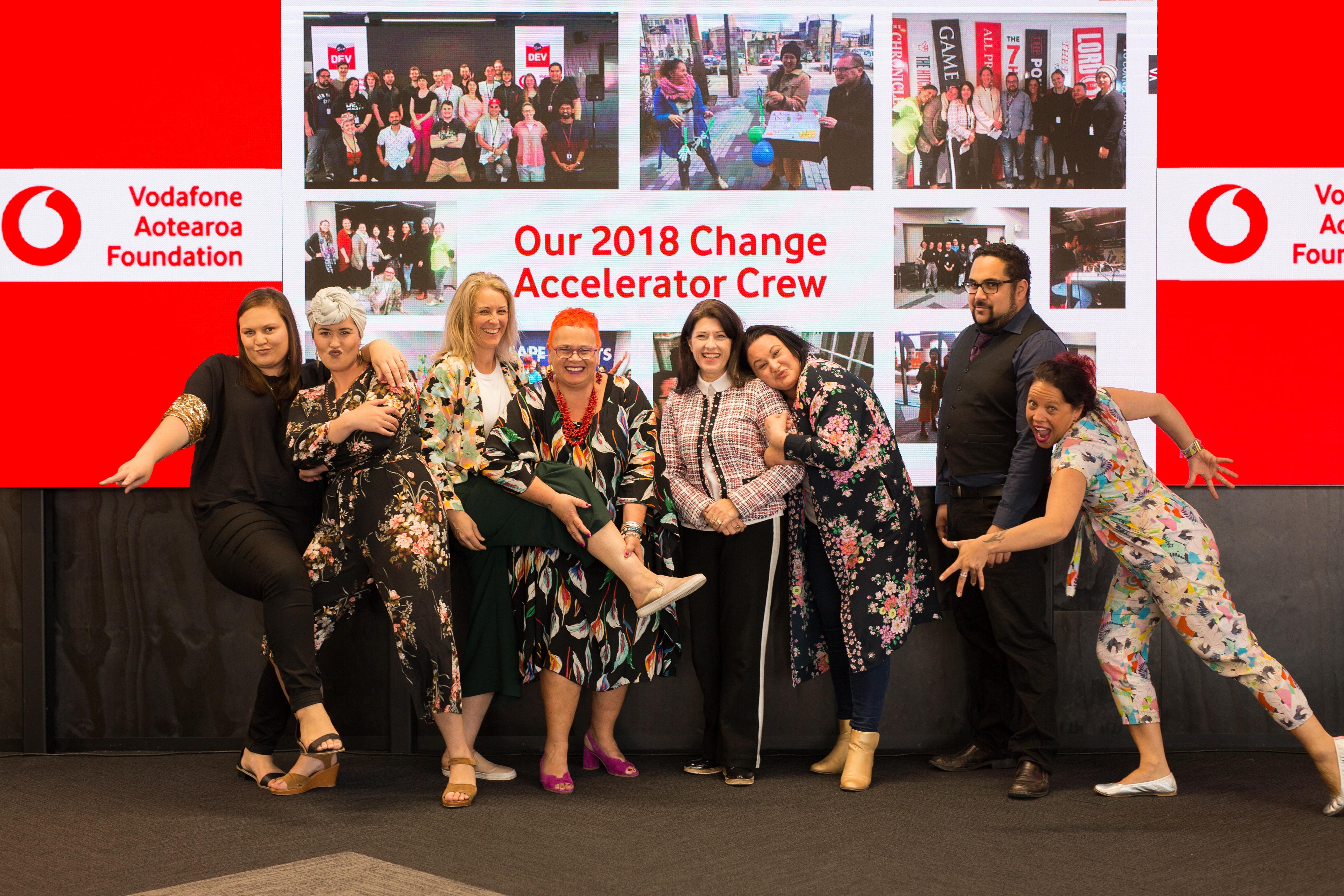 2018 Change Accelerator Participants